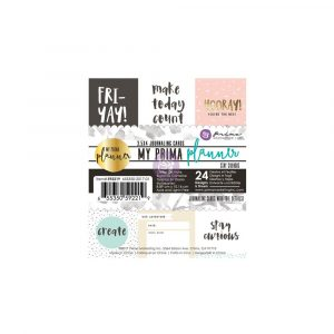 My Prima Planner Embelishments - Journaling Cards - Stay Curious