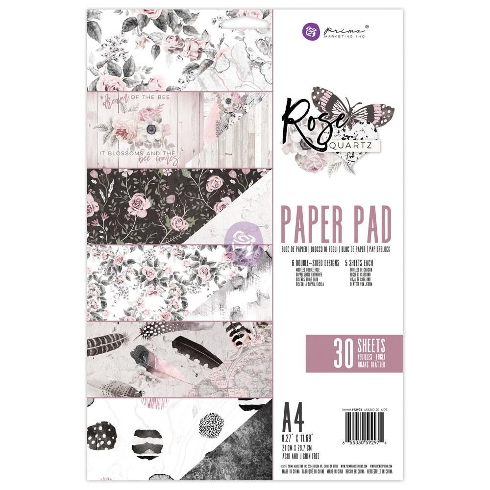 A4 Paper Pad - Rose Quartz