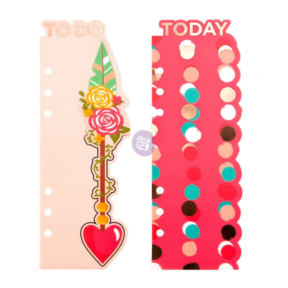 MPP Embellishments - Be Happy - Bookmark Divider