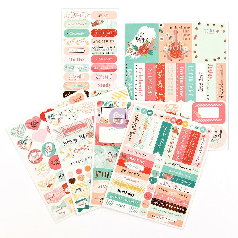 MPP Embellishments - Be Happy - Stickers
