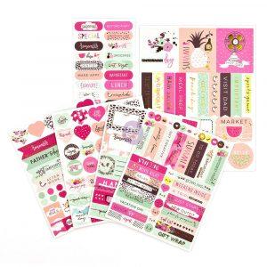 MPP Embellishments - Good Vibes - Stickers