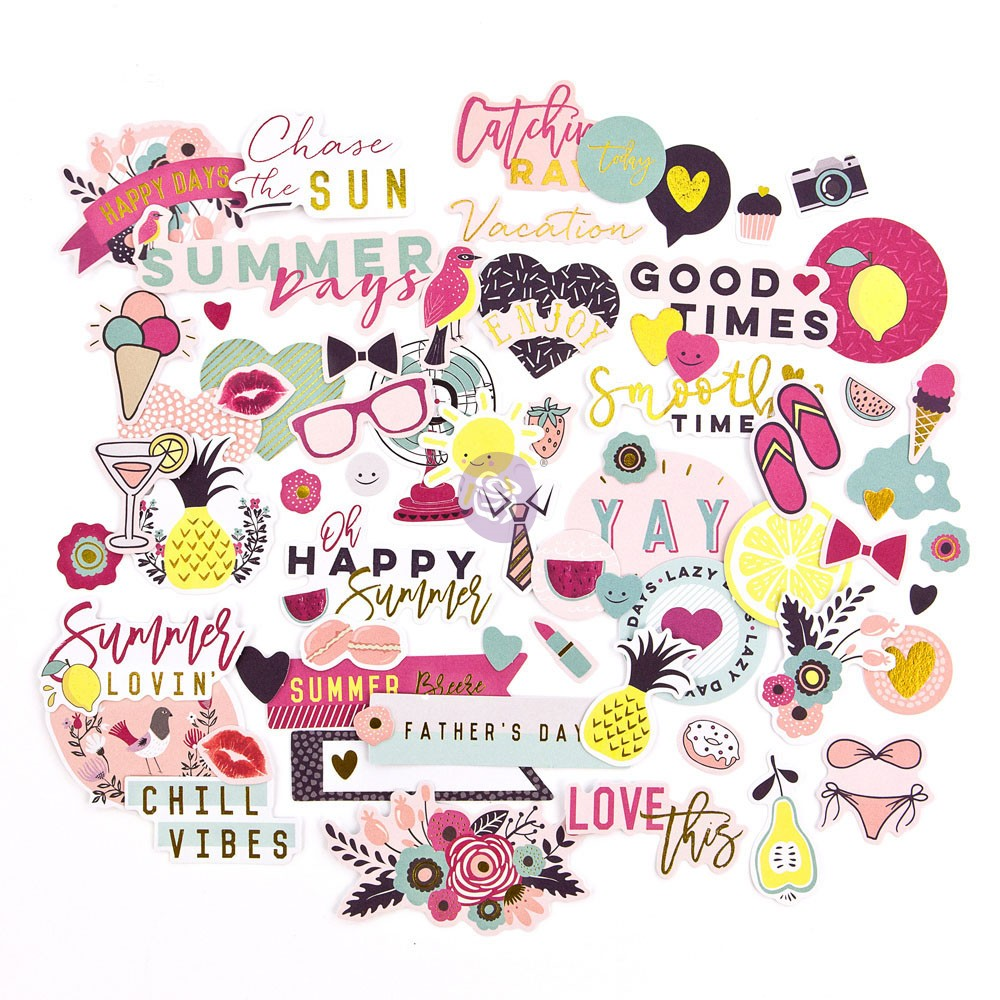 MPP Embellishments - Good Vibes - Ephemera Pack