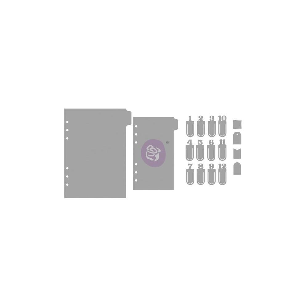 My Prima Planner Metal Dies - Numbers