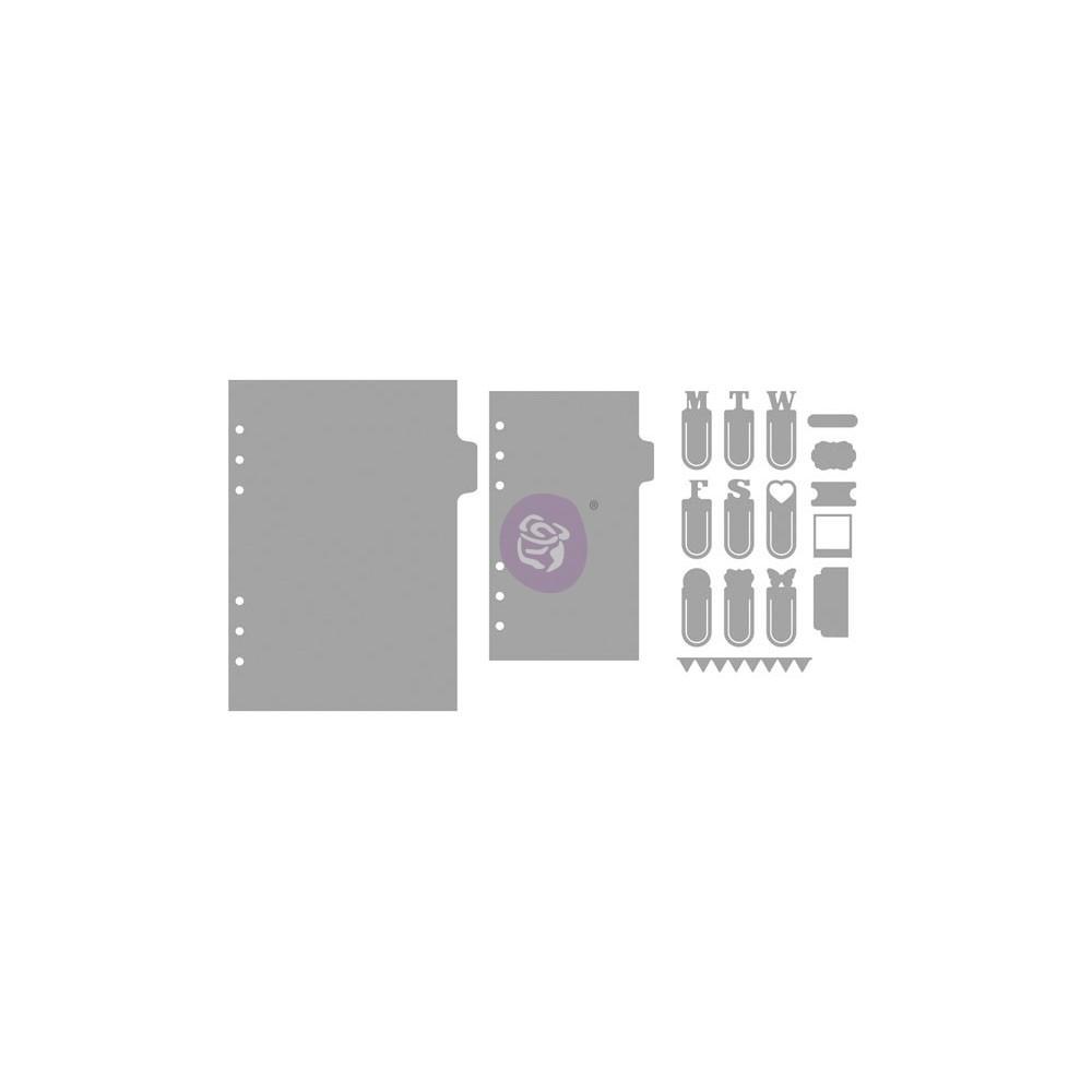 My Prima Planner Metal Dies - Days 1