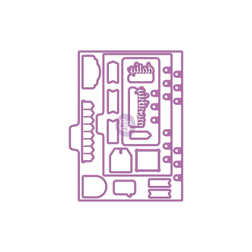 My Prima Planner Metal Dies - Shapes 1