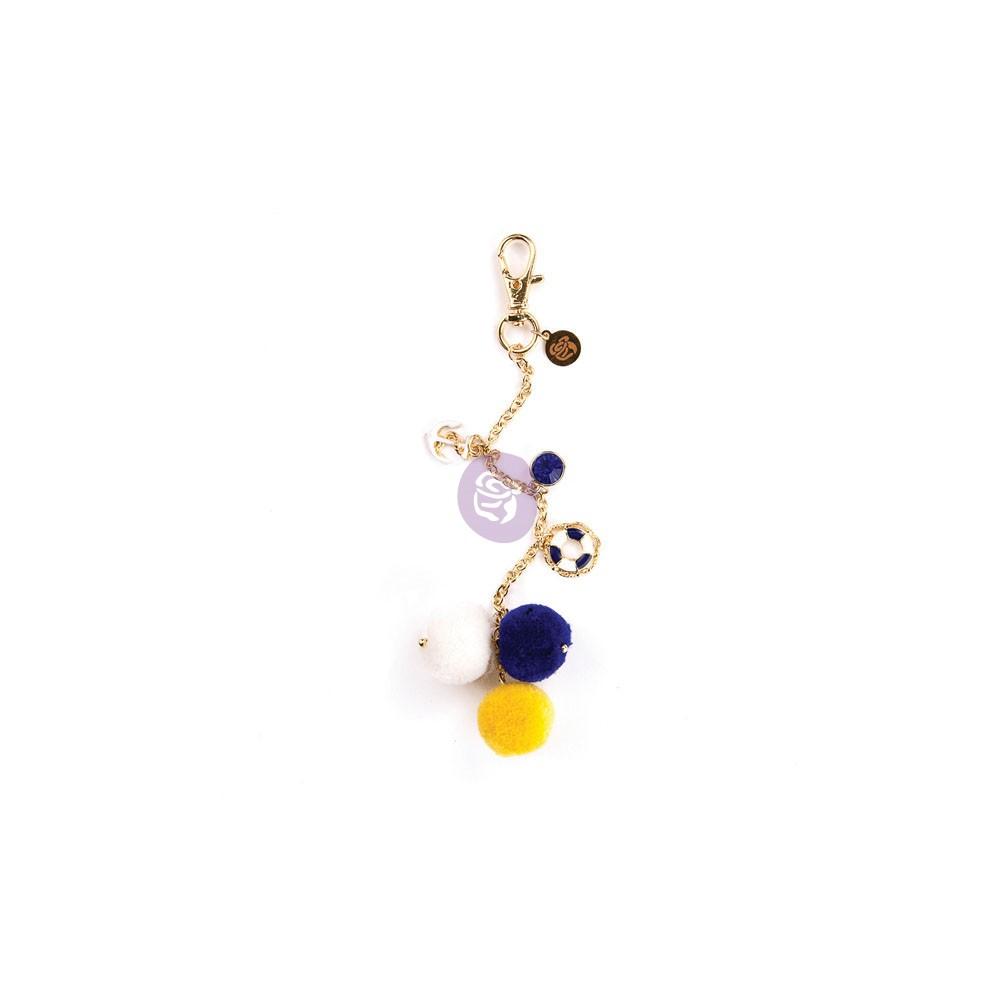 My Prima Planner Embellishments - Hey Sailor! Pom Pom Key Chain
