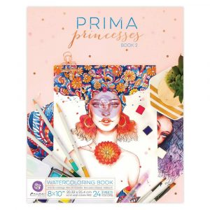 Prima Princess Coloring Book 2