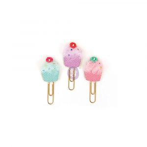 My Prima Planner Clips - Cupcakes