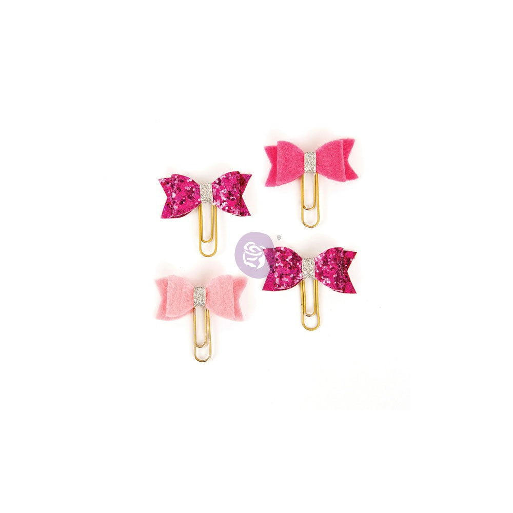 My Prima Planner Clips - Hot Punk Blush