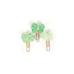 My Prima Planner Clips - Soft Mint