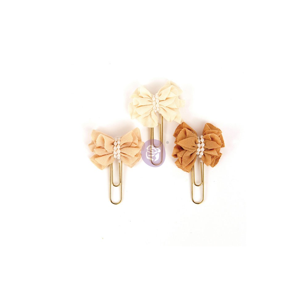 My Prima Planner Clips - Swet Toffee