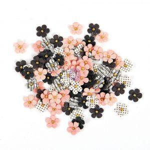 Prima Traveler's Journal Flowers - Blush Elegance