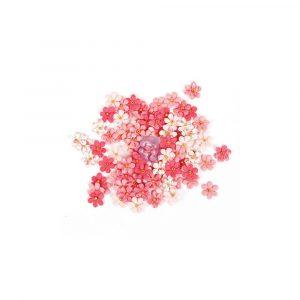 Prima Traveler's Journal Flowers - Pink Crush