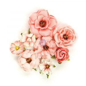 Rose Quartz Flowers - Rosa Verona