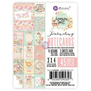 Heaven Sent 2 - 3X4 Journaling Cards