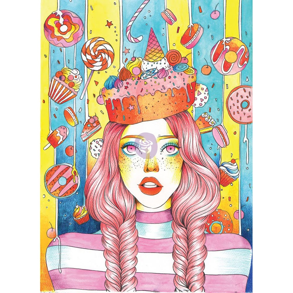 Prima Princess Stamps - Sweet Tooth