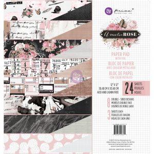 Amelia Rose - 12x12 Paper Pad
