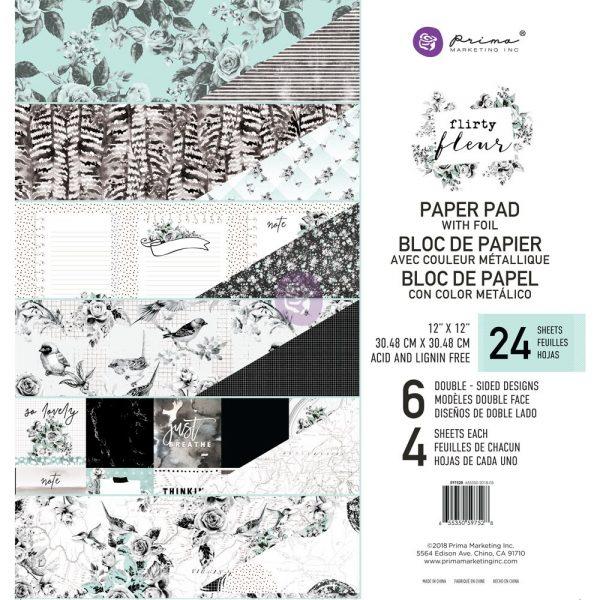 Flirty Fleur 12x12 Paper Pad