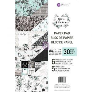 Flirty Fleur A4 Paper Pad