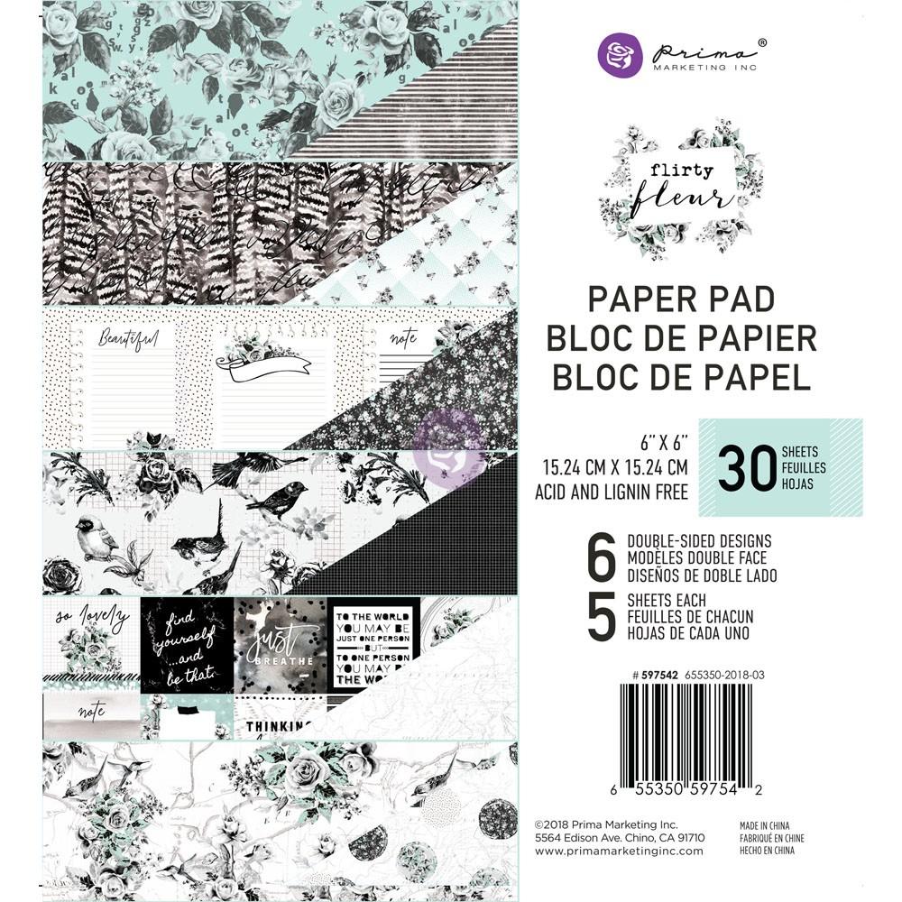 Flirty Fleur 6x6 Paper Pad