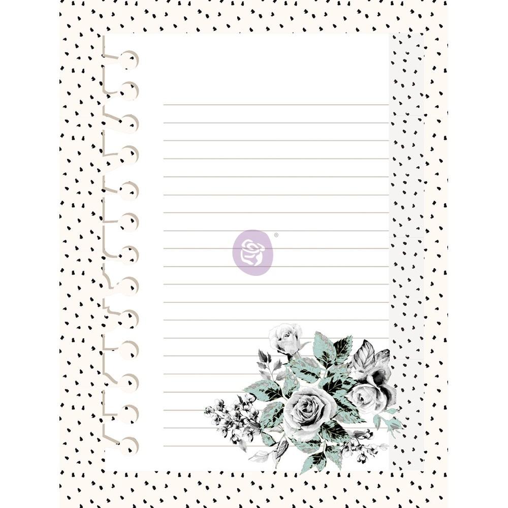 Flirty Fleur 3X4 Journaling Cards