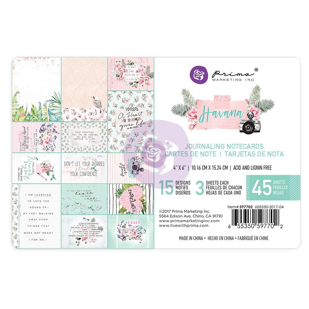Havana - 4X6 Journaling Cards