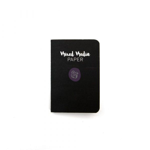 Mixed Media Paper Notebook Passport Size
