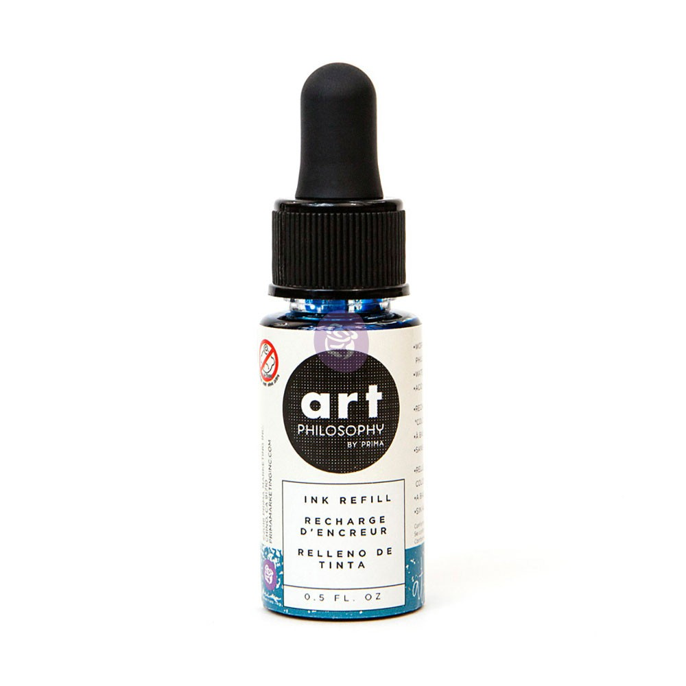 Color Philosophy Ink Refill 0.5fl.oz- Atlas Blue
