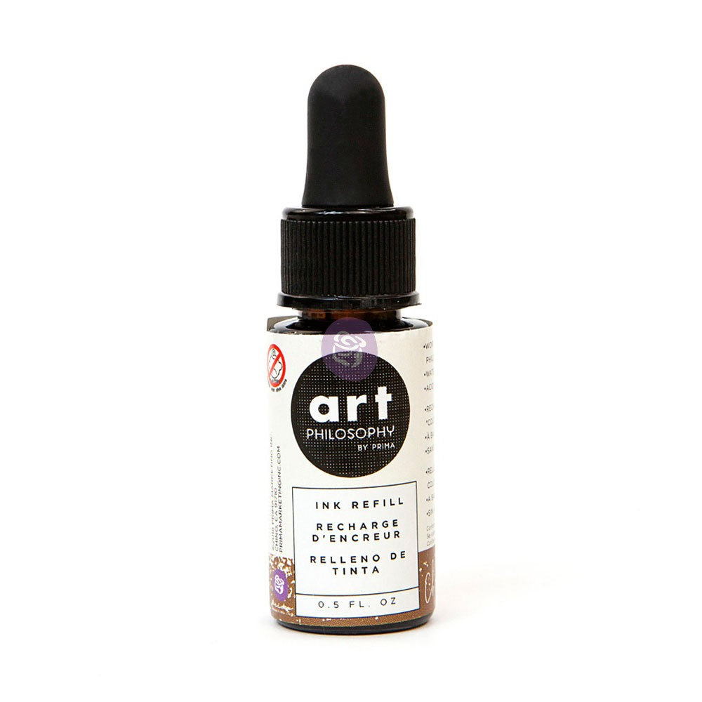 Color Philosophy Ink Refill 0.5fl.oz- Chocolat