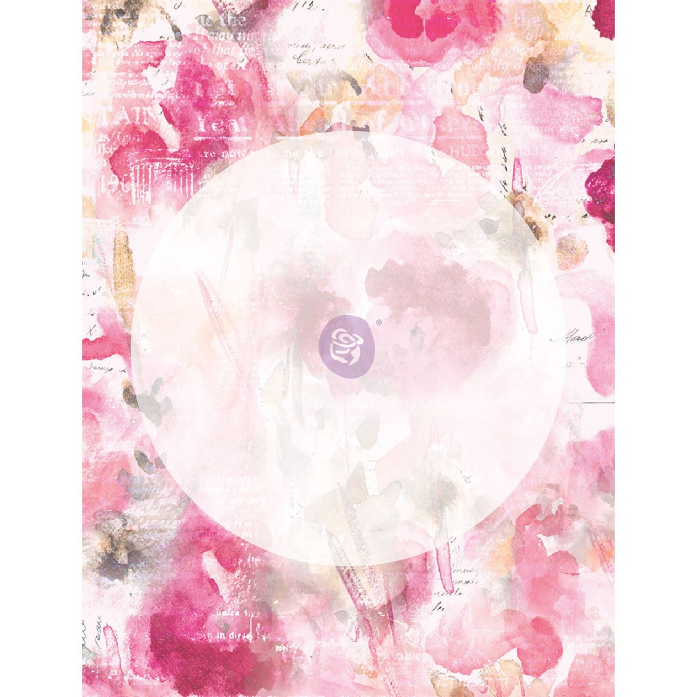 Misty Rose 3x4 Journaling Cards