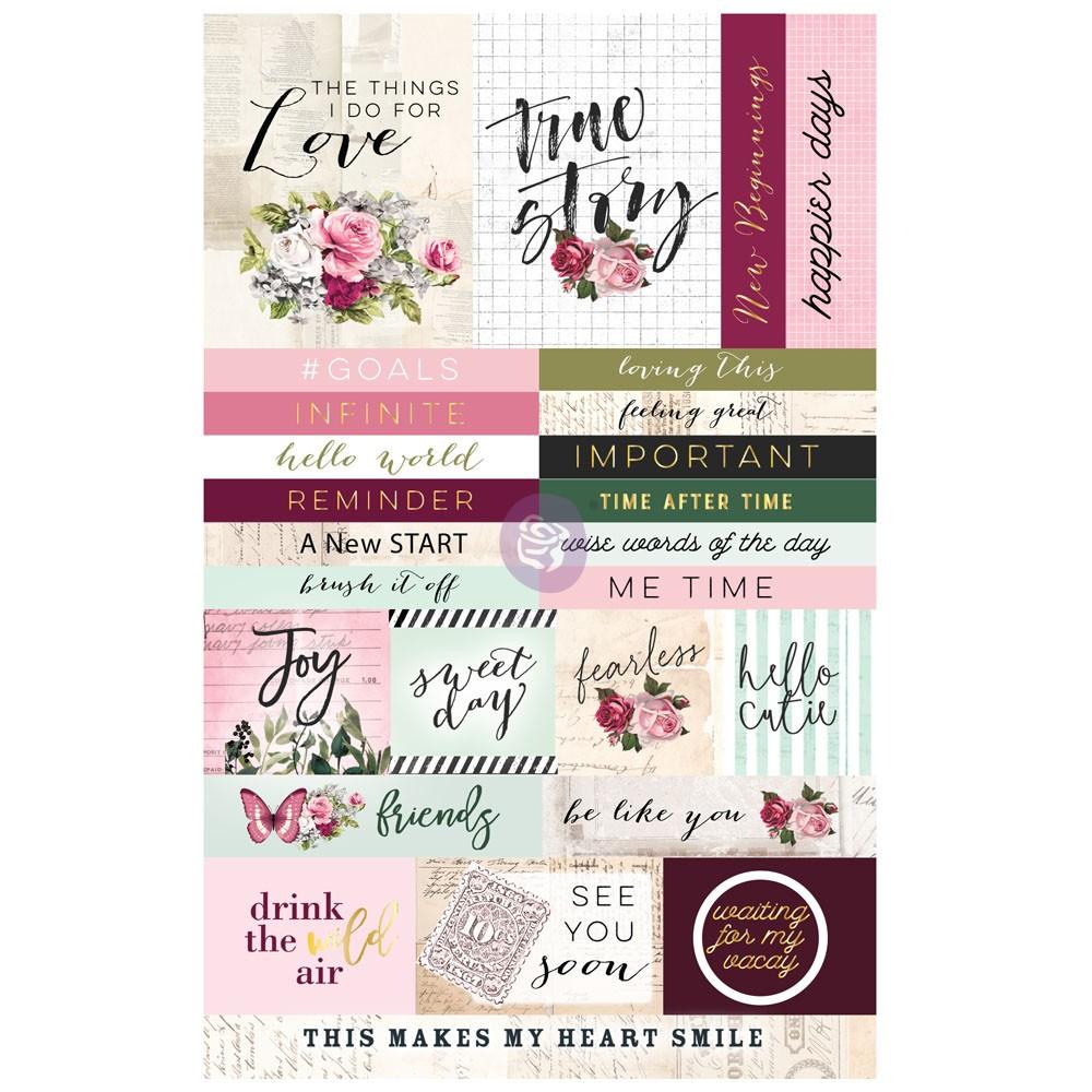 Misty Rose Ephemera Sticker 2
