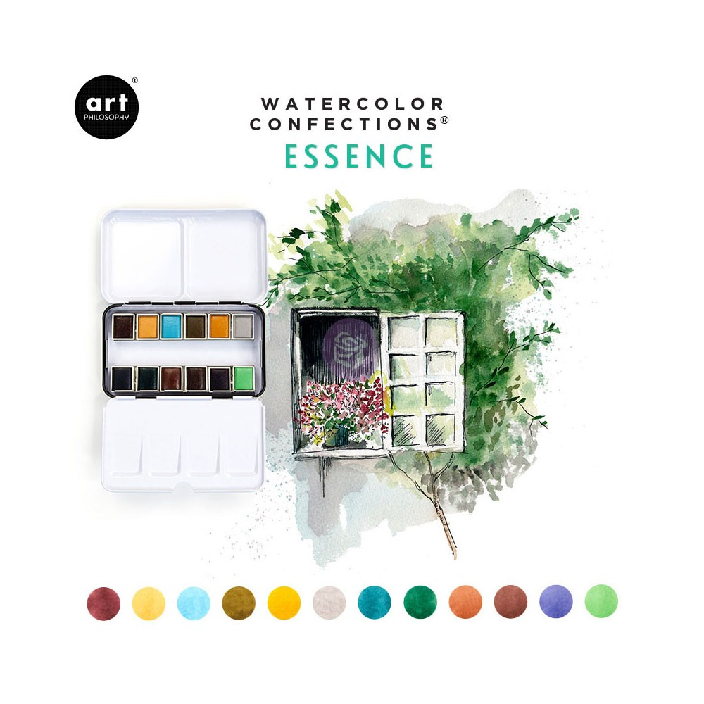 Watercolor Confections Prima Marketing Confection Refills Watercolor