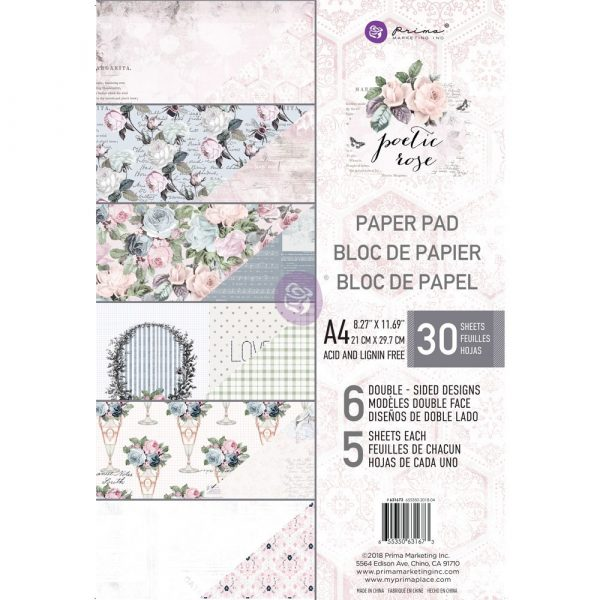 Poetic Paper A4 Paper Pad