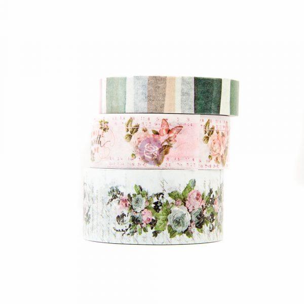 Poetic Rose Decorative Tape