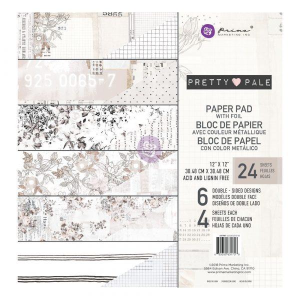 Pretty Pale 12x12 Paper Pad