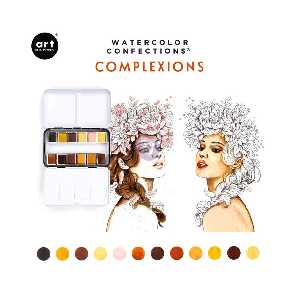 Watercolor Confections: Complexion