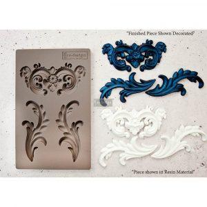 "Redesign Décor Moulds® 5""x8"" - Everleigh Flourish"