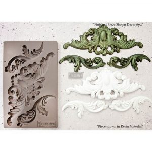 """Redesign Décor Moulds® 5""""x8"""" - Thorton Medallion"""