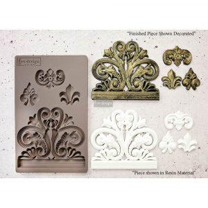 "Redesign Décor Moulds®  5""x8"" - Bridgeport Irongate"
