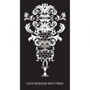 Redesign Adhesive Silk Screen Stencil - Sinclaire Regal