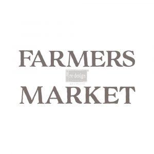 Redesign Transfer - Farmers Market 27.5x17
