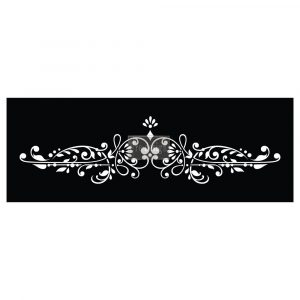 Redesign Raised Stencil - Dalia Crest