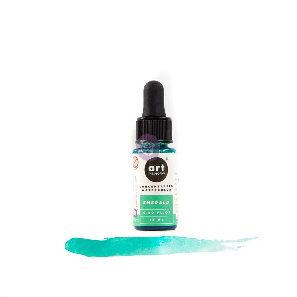 Concentrate watercolor 0.5 fl.oz- Emerald