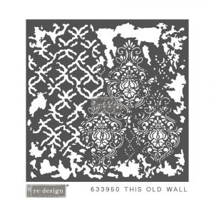 Redesign Mixed Media Stencil - This Old Wall