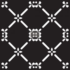 Redesign Concrete Stencil - French Dame