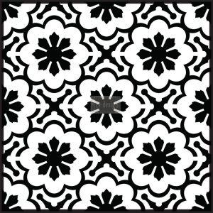 Redesign Concrete Stencil - Melilla Flower
