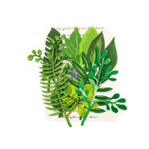 Leaf Embellishments - Evergreen