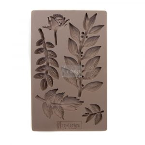 Redesign Mould - Leafy Blossoms