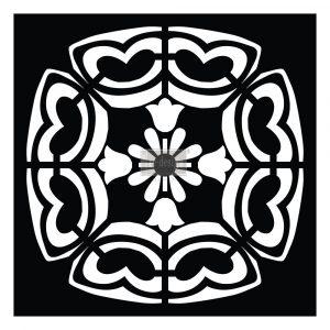 Redesign Paver Stencil - Elda