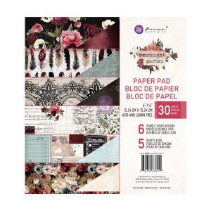 Midnight Garden 6x6 Paper Pad